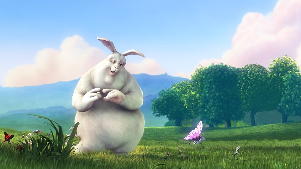 Big Buck Bunny splash screen